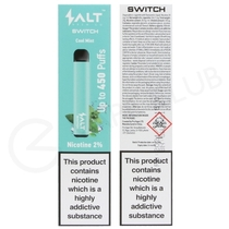 Cool Mint Salt Brew Co Switch Disposable Device
