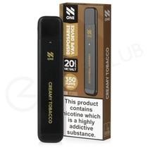 Cream Tobacco N One Disposable Vape