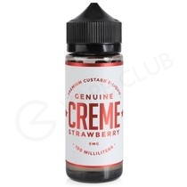 Creme Strawberry eLiquid by Genuine Creme 100ml