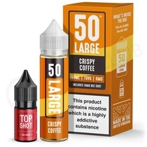 Crispy Coffee Shortfill E-Liquid by 50 Large 50ml