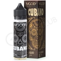 Cubano Shortfill E-Liquid by VGOD 50ml