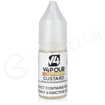 Custard Nic Salt E-Liquid by V4 VAPOUR