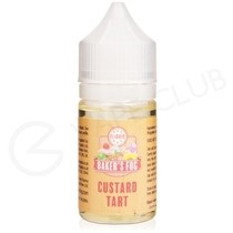 Custard Tart 25ml Shortfill by Bakers Fog