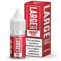 Donut Worry Nic Salt E-Liquid by Large Juice