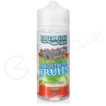 Double Apple Mint N Strawberry Ice Shortfill E-Liquid by Frostbite Fruits 100ml