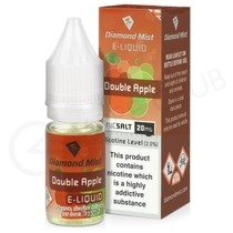 Double Apple Nic Salt E-Liquid by Diamond Mist
