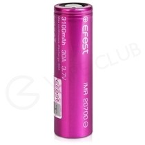 Efest 20700 Rechargeable Vape Battery (3100mAh 30A)