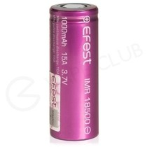 Efest IMR 18500 Rechargeable Vape Battery (1000mah, 15A)