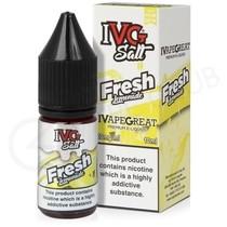 Fresh Lemonade Nic Salt E-Liquid by IVG Mixer