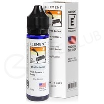 Fresh Squeeze & Crema Shortfill E-Liquid by Element Emulsions 50ml