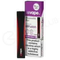 Fusion 88Vape Disposable Device