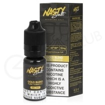 Gold Blend E-Liquid by Nasty Salts