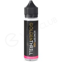 Golden Thrill eLiquid by KonceptXIX 50ml