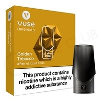 Golden Tobacco ePen Prefilled Vape Pod by Vuse