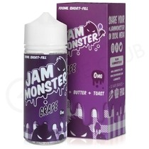 Grape 100ml Shortfill by Jam Monster