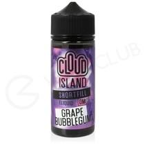 Grape Bubblegum Shortfill E-Liquid by Cloud Island 100ml