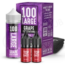 Grape Expectations Shortfill E-Liquid by 100 Large 100ml