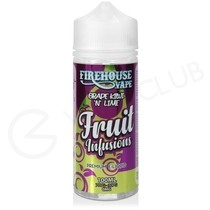 Grape Kiwi N Lime Shortfill E-Liquid by Fruit Infusions 100ml