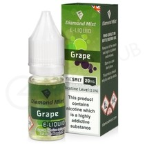 Grape Nic Salt E-Liquid by Diamond Mist