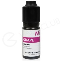Grape Nic Salt E-Liquid by Minimal