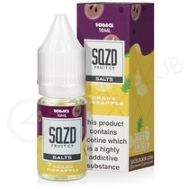 Grape Pineapple Nic Salt E-Liquid by SQZD