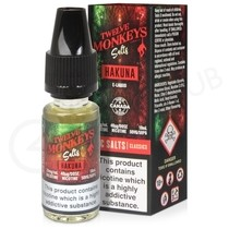 Hakuna Nic Salt E-Liquid by Twelve Monkeys