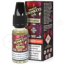 Harambae Nic Salt E-Liquid by Twelve Monkeys
