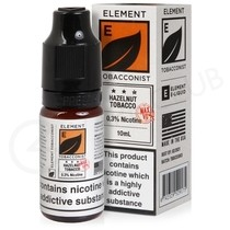 Hazelnut Tobacco High VG E-Liquid by Element Tobacconist