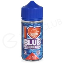 I Love Candy Blue Raspberry eLiquid by Mad Hatter Juice 100ml