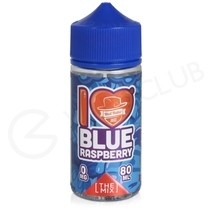 Blue Raspberry Shortfill E-Liquid by Mad Hatter Juice 80ml