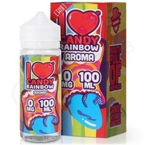 I Love Candy Rainbow Shortfill E-Liquid by Mad Hatter Juice 80ml & 100ml