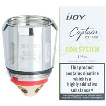 iJoy X3 Captain Replacement Vape Coils