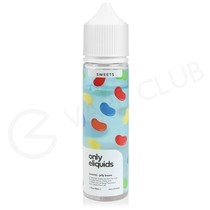 Jelly Beans Shortfill E-Liquid by Only Eliquids Sweets 50ml