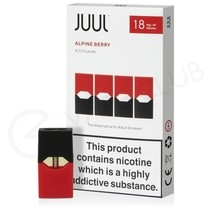 JUUL Alpine Berry Nic Salt E-Liquid Pod