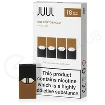 JUUL Golden Tobacco Nic Salt E-Liquid Pod