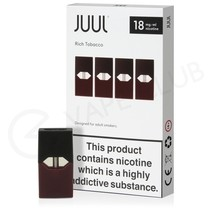 JUUL Rich Tobacco Nic Salt E-Liquid Pod