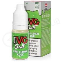 Kiwi Lemon Kool Nic Salt E-Liquid by IVG