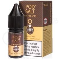 Lemon Cake Nic Salt E-Liquid by Pod Salt & Baker's Oven