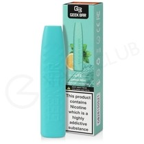 Lemon Mint Geek Bar Lite Disposable Vape