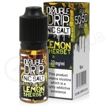 Lemon Sherbet Nic Salt E-Liquid by Double Drip