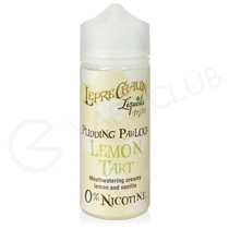 Lemon Tart Shortfill E-Liquid by Leprechaun Liquids Pudding Parlour 100ml
