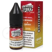 Lemonade & Cherry Candy Drops Nic Salt E-Liquid by Moreish Puff