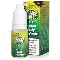 Lime Lemonade Nic Salt E-Liquid by Pukka Juice