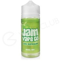 Lime Marmalade Shortfill E-Liquid by Jam Vape Co. 100ml