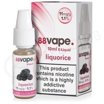 Liquorice E-Liquid by 88Vape
