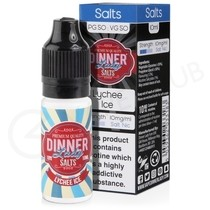 Lychee Ice Nic Salt E-Liquid by Dinner Lady