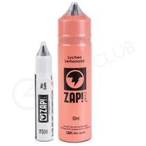 Lychee Lemonade Shortfill E-liquid by Zap! Juice 50ml