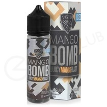 Mango Bomb Iced Shortfill E-Liquid by VGOD Bomb Line 50ml