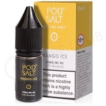 Mango Ice Nic Salt E-Liquid by Pod Salt