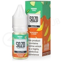 Mango Lime Nic Salt E-Liquid by SQZD